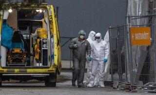 За сутки в Эстонии выявлен 191 случай заражения коронавирусом, умерли трое заболевших
