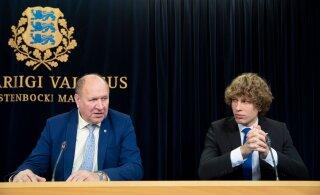 """EKRE опять недовольна министром Кийком: отцу и сыну Хельме не понравилась кампания """"Мы все разные, но мы все люди"""""""