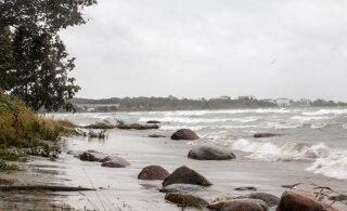 Внимание! По всей Эстонии объявлено штормовое предупреждение