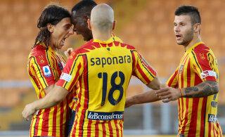 Püsimajäämise eest võitlev Lecce tegi kingituse nii endale kui Juventusele