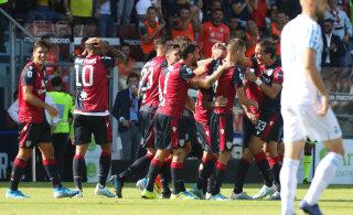 VIDEO | Võimsas hoos Cagliari tõusis Itaalia kõrgliigas esikuuikusse, Meistrite Liiga koht on kahe silma kaugusel