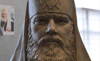 ФОТО: Началась работа над памятником Патриарху Алексию II, который установят в Йыхви