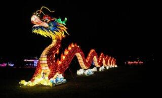 FOTOD | Lauluväljakul avatakse külastajatele maagiline Aasia laternafestival