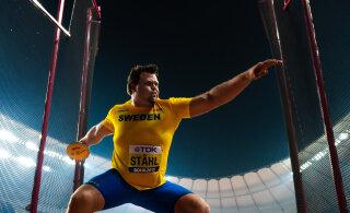 VIDEO | Võimas rootslane parandas kettaheites maailma hooaja tippmarki