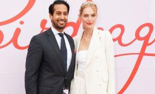 KLÕPSUD | Vapustavalt kaunis! Modell Vanessa Axente abiellus spontaanselt ebatraditsioonilises rõivastuses