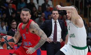 VIDEO | Lõpusekundi kaugviskest võitnud CSKA pikendas Žalgirise kaotusteseeriat