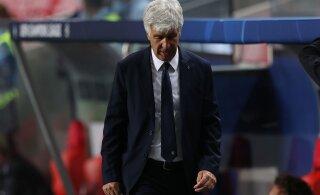 Atalanta peatreener: oleme pettunud, sest poolfinaal oli nii lähedal