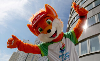 ВИДЕО | В пятницу в Минске открываются II Европейские игры: Эстонию представят 68 спортсменов