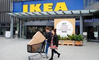Помешательство жителей Эстонии на продукции IKEA перегрузило магазин. Клиенты недовольны задержками с доставкой
