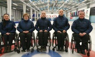 Eesti ratastoolikurlingu koondis alustab võistlemist maailmameistrivõistlustel
