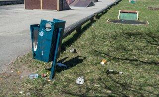 В Пирита возле пунктов сбора отходов могут начать устанавливать камеры