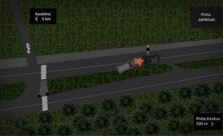 РЕКОНСТРУКЦИЯ: Как в Пирита произошла тяжелая авария с тремя пострадавшими