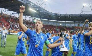 Ajalugu teinud Ukraina tuli U20 maailmameistriks