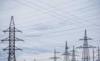 Шторм оставил без электричества 4740 домов, больше всего — в Харьюмаа
