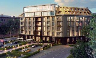 ФОТО | Самая ожидаемая новостройка Таллинна достигла своей максимальной высоты. В ней продано уже 70% квартир