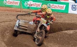 Tihemetsa motokrossi meistrivõistluste etapil võidutsesid Normak-Kasesalu ja Saar