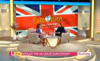 Briti tuntud ajakirjanik on Eurovisioni viimase koha pärast raevus: eurooplastel pole maitset!