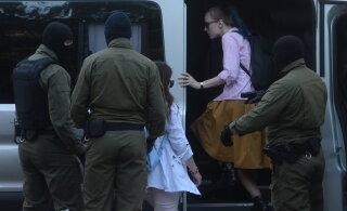 В Минске начались задержания участников протестной акции