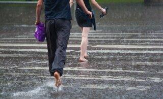 Uus nädal on vihmane, kuid soe