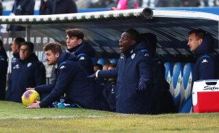 Klavan ja Cagliari komistasid tabeli tagumise otsa klubi vastu, Mario Balotellile näidati punast kaarti