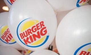Tallinki shuttle-laevade Burger Kingi restoranides on tänasest saadaval kuulus Rebel Whopper burger
