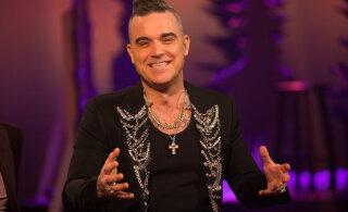 Robbie Williams avastas kire uue spordiala vastu