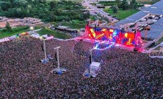 ФОТО| Как много людей! Организатор поделился эксклюзивными фотографиями концерта Metallica