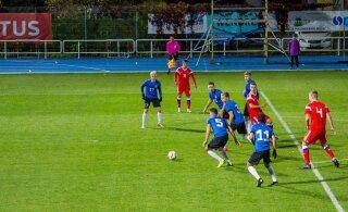 ФОТО | Чемпионат Европы-2021: футболисты сборной Эстонии крупно уступили России