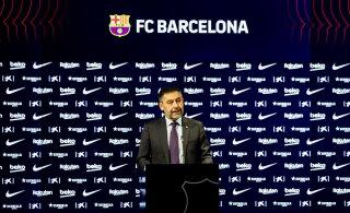 Barcelona president astus ametist tagasi