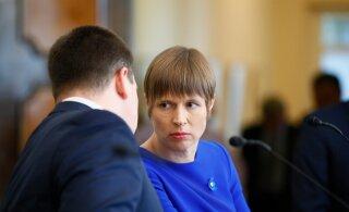 VIDEO, BLOGI ja FOTOD | Kaljulaid kinnitas Kadriorus Ratase uue valitsuse ametisse ja kutsub kõiki võtma sadat vihavaba päeva