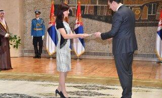 Eesti suursaadik Serbia Vabariigis andis üle volikirja
