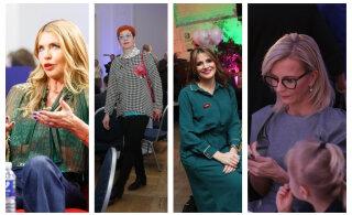 FOTOD   Paljastavad pluusid, julged toonid ja veidrad aksessuaarid ehk kõige värvilisemad külalised valimispidudelt!