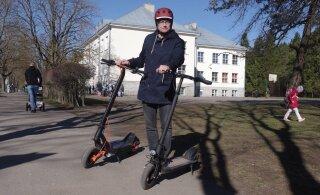 Город Кейла приобрел для чиновников первые электрические самокаты
