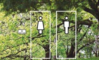 В центре Таллинна установлены новые бесплатные общественные туалеты