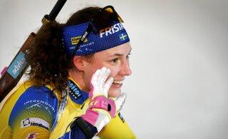 Двойной успех шведок и неудача эстонских биатлонисток
