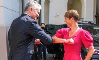 President Kaljulaid kohtus Leedu riigipeaga: ühise energialeppeni jõudmine eeldab kompromisse