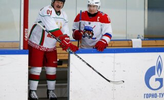Valgevene president Lukašenka koroona pärast ei muretse: kõige paremaks raviks on talisport
