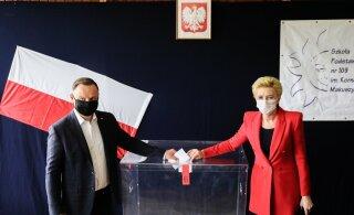Экзитпол: Дуда переизбран президентом Польши на второй срок