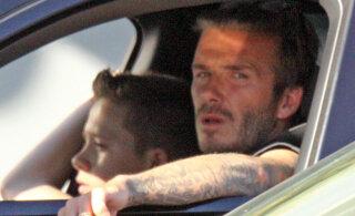 David Beckham tunnistab, et sai roolis juba teist korda hakkama korraliku rikkumisega