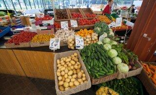 БОЛЬШОЙ ОБЗОР | Смотрите, сколько стоят свежие продукты на рынках Эстонии
