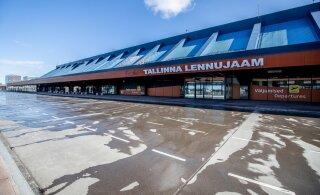 Число прямых международных авиамаршрутов из Таллинна сократилось до 9