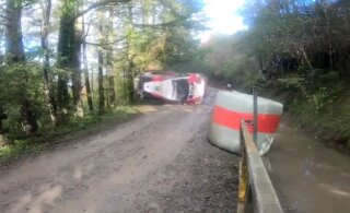 ВИДЕО: Жуткая авария финского гонщика на Ралли Уэльса