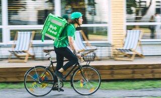 Услуга Bolt Food запускается в Тарту. Сначала доставка бесплатная!