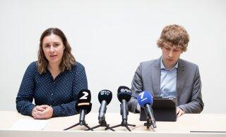 ПРЯМАЯ ТРАНСЛЯЦИЯ | Министр социальных дел и глава Департамента здоровья рассказывают о распространении коронавируса в Эстонии