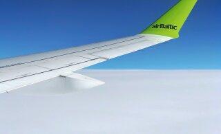 ФОТО | Как прошел полет по самому необычному маршруту Рига-Рига