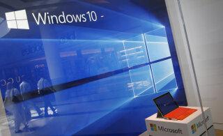 USA luureteenistus teatas Microsoftile tohutust Windows 10 turvaaugust