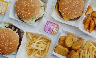 Эстонец утверждает, что сломал зуб о куриный наггетс, и требует с McDonald's миллион долларов
