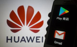 Google piiras Huawei jaoks operatsioonisüsteemi Android kasutamist
