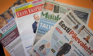 Eesti Post поднимает стоимость доставки печатной прессы на дом. В Рийгикогу обсудят проблему