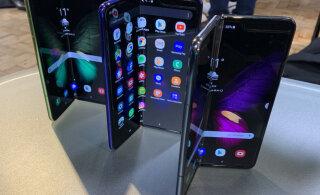 Jama majas? Samsung lükkab voldiktelefoni müügiletuleku Hiinas edasi